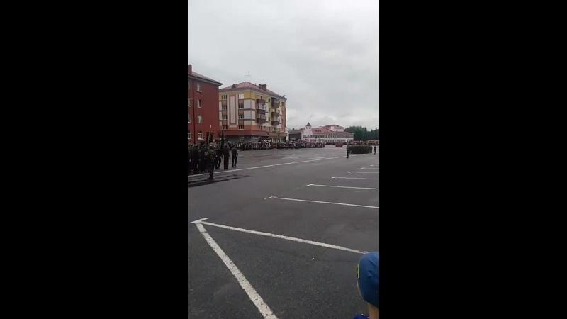 парад г. Мозырь