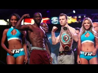 Jeff Horn - Terence Crawford - Weigh In