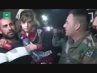 Сирия при поддержке РФ вызволила друзских заложников из плена ИГИЛ: репортаж ФАН после освобождения