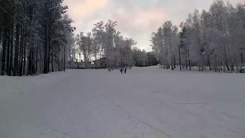 покатушки на сноуборде