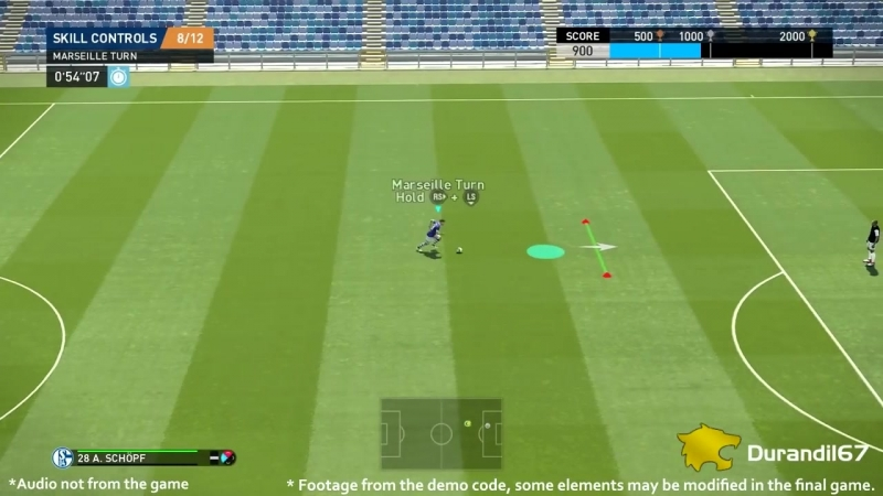 PES 2019 New Skill Controls Training Demo Code Preview