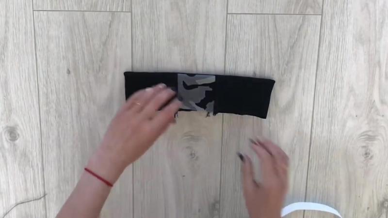 Как сшить спортивные штаны из бебисофта _TIM_hm_
