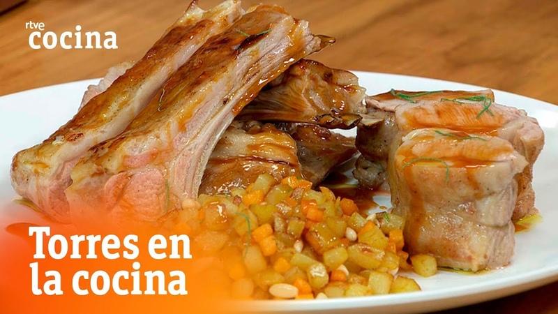 Cómo hacer cordero con calabaza - Torres en la Cocina | RTVE Cocina