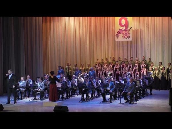 Праздничный концерт к 77-летию освобождения города воинской славы Тихвин.9 декабря 2018 г