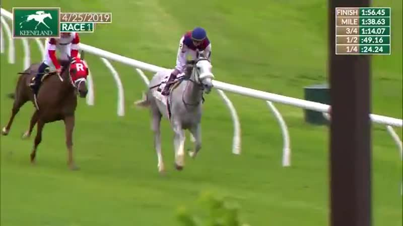 25 04 19 KEENELAND Princesa Carolina race 1