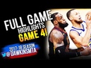 Golden State Warriors vs Cleveland Cavaliers Full Game Highlights Game 4   2018 NBA Finals