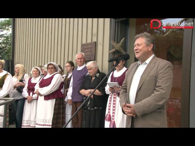 Pivašiūnų amatų centro atidarymas 2013 08 14 Alytaus rajonas
