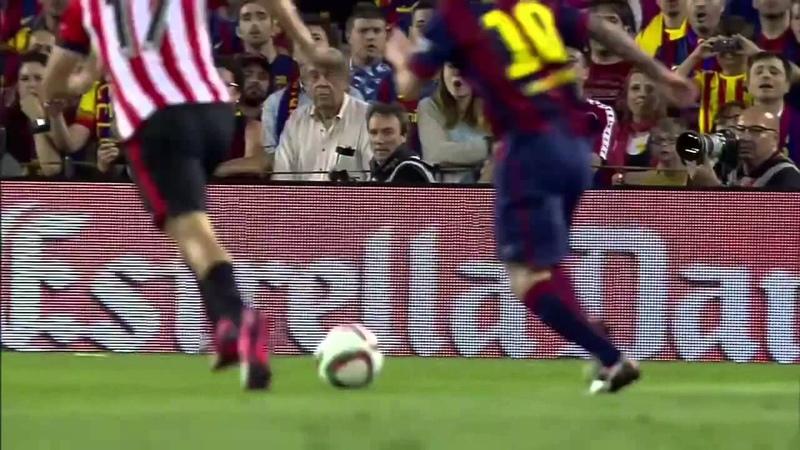 ESPN FC Sport Science Messi's goal vs Athletic Bilbao 2015 Copa del Rey Final