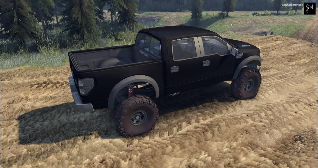 Ford Raptor SVT для Spintires - Скриншот 2
