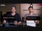 Harry Shum Jr. & Matthew Daddario Play The Newlywed Game | RUS HS