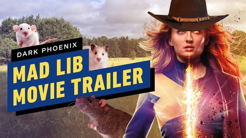 Sophie Turner Cast Mad Lib the Plot of Dark Phoenix