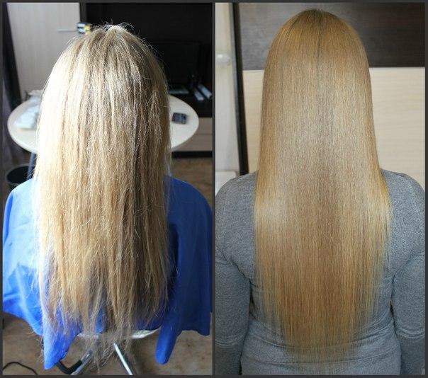 Кератиновое выпрямление волос красноярск