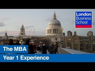 The MBA experience: Year one | London Business School