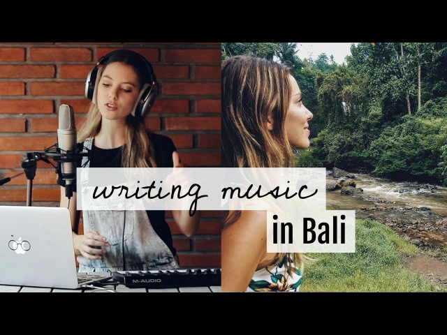 ANNOUNCEMENT - Why I wrote my album in Bali | Vlog