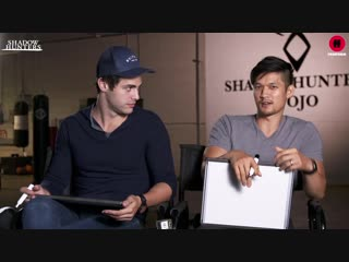 Shadowhunters Cast ¦ Harry Shum Jr. Matthew Daddario Play The Newlywed Game ¦ Freeform