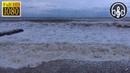 Шторм в море с дождем в 4К Шум моря и звуки дождя для сна и релаксации