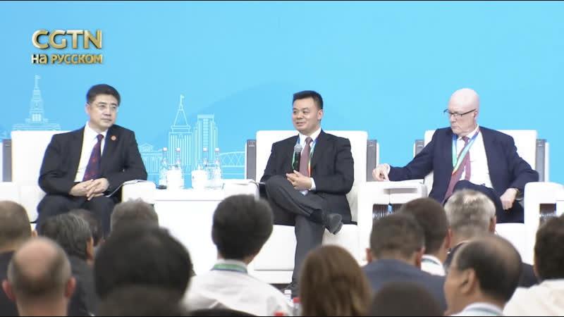 Cупервайзер телеканалов CGTN ЦТРК Цзян Хэпин рассказал об основной цели вещания телеканалов CGTN на Форуме Хунцяо