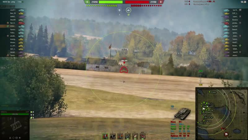 Вертуха в Т30 WoT
