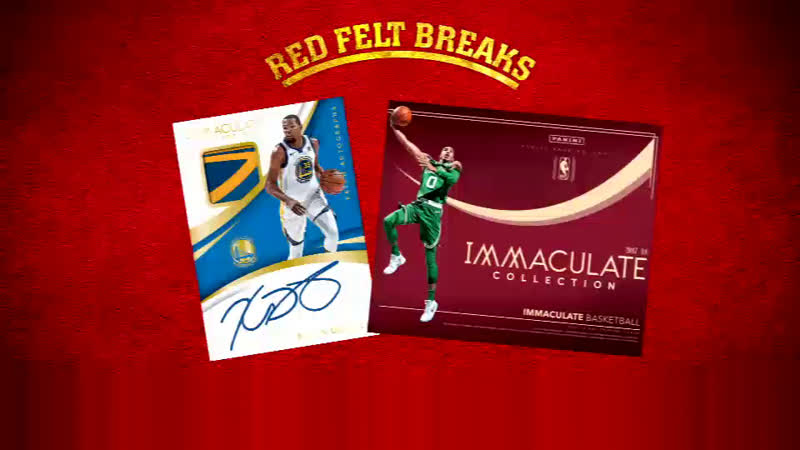 2018 Panini Immaculate Basketball Box | Red Felt Breaks
