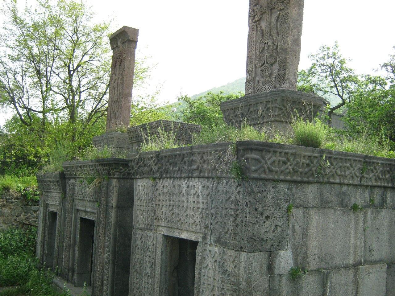 Усыпальница рода Укананц в монастыре Ахпат