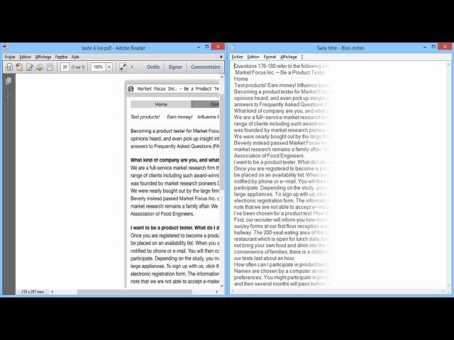 Lire/Convertir le texte d'une image ou d'un pdf 📂 (FreeOCR)