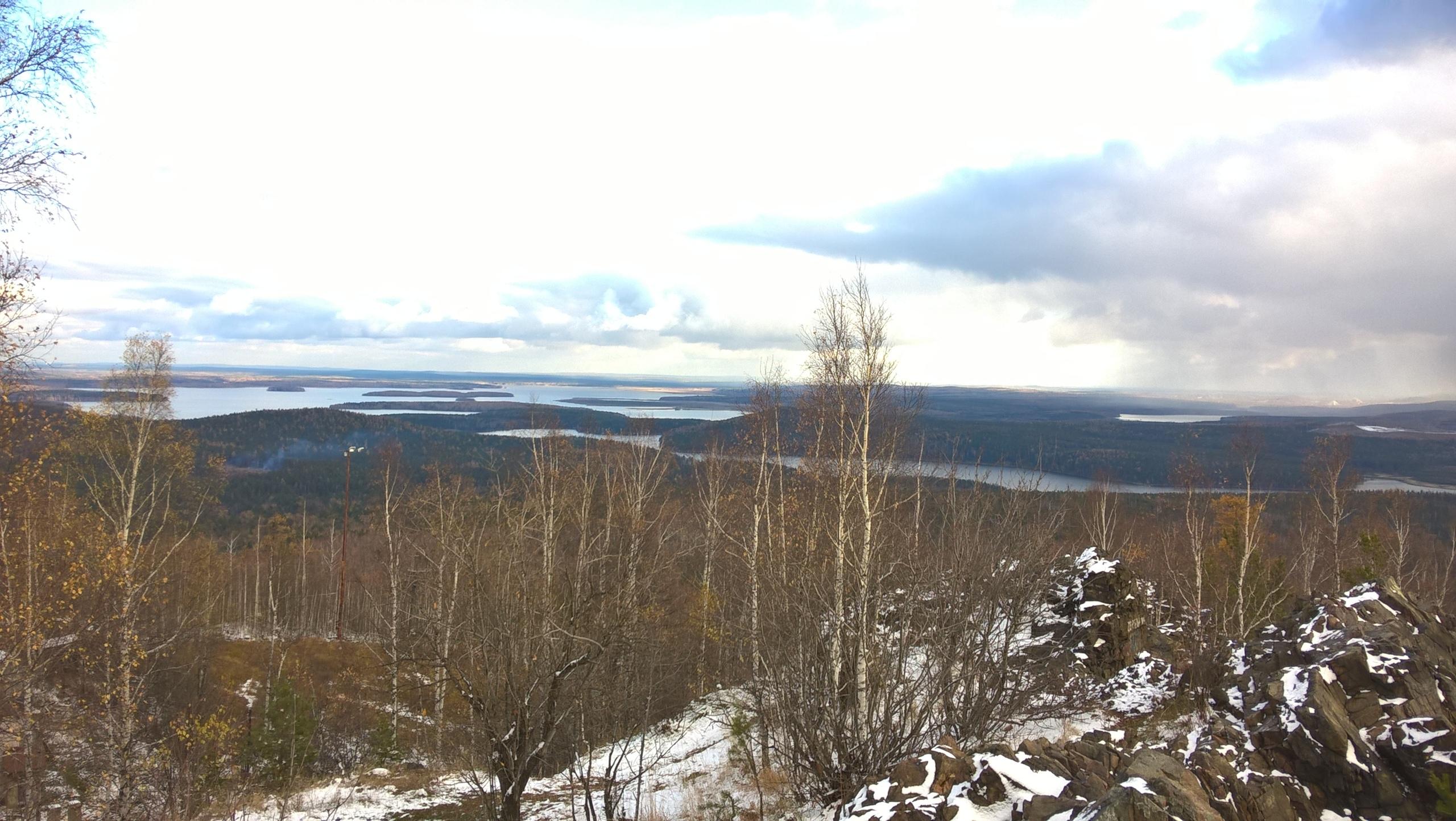 Вид с горы Волчихи около Ревда