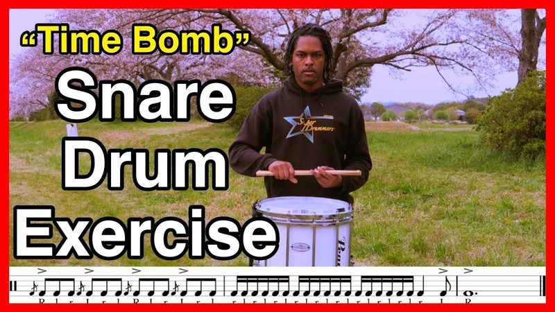 Time Bomb Snare Drum Solo Exercise