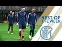 ATALANTA vs INTER WEEKLY TRAINING Icardi and Lautaros goals!