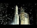 Старт ракеты Arian-5 с первым спутником производства Аргентины на борту