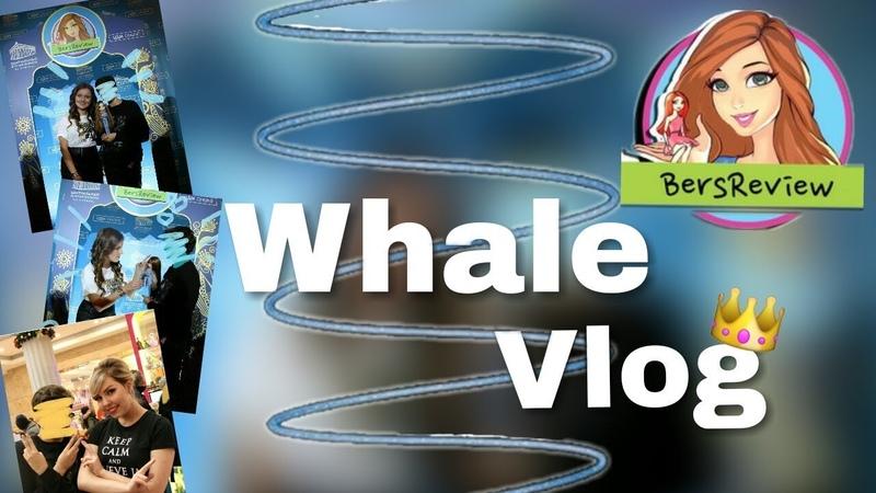 Фан - Встреча Берсика в ЦДМ ! | ЦДМонлайн | Whale Vlog 1