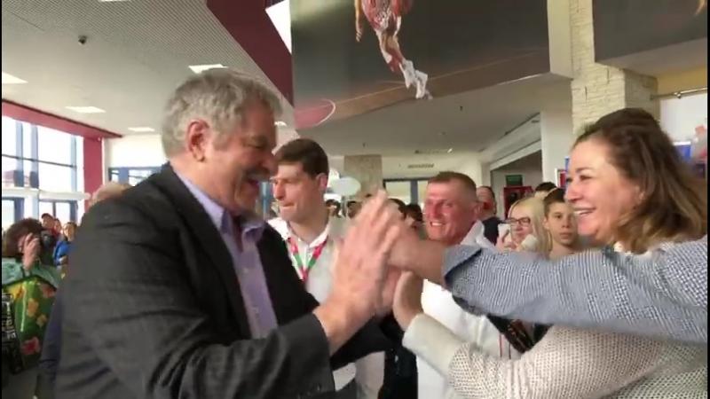 Иван Едешко и Алжан Жармухамедов в Краснодаре