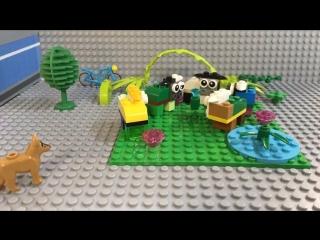 LEGO Мультик «Украденный кристалл»