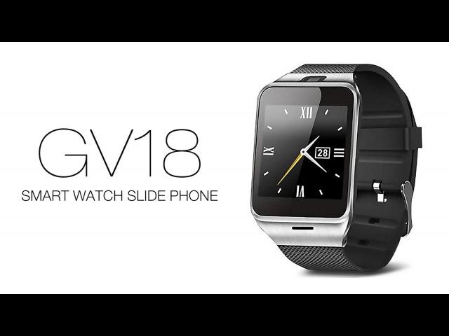 GV18 1.54 HD Screen Dialer Anti-lost Watch Phone Sleep Monitoring Pedometer