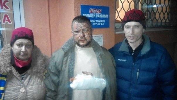 В новогоднюю ночь пьяный в камуфляже напал из засады на полицейского и покусал его, - Аброськин - Цензор.НЕТ 4804