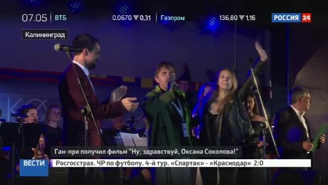 Новости на Россия 24 • В Калининграде завершился кинофестиваль Короче-2016