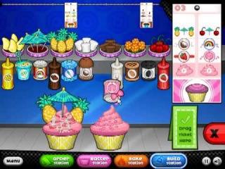 Papa's Cupcakeria - видео онлайн игре / кулинария