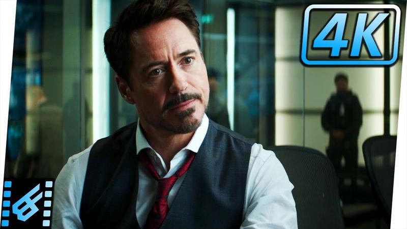 Tony Stark Tries To Convince Cap To Sign | Captain America Civil War (2016) Movie Clip