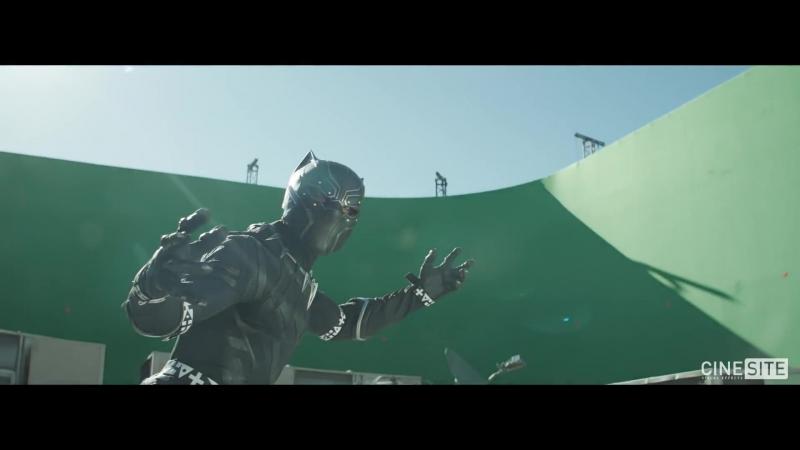 Captain America׃ Civil War ¦ Black Panther VFX Breakdown [CINEsite visual effects] ¦ (2016) HD
