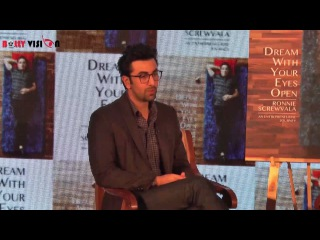 Ranbir Kapoor unveiled the cover of Ronnie Screwvala's Book