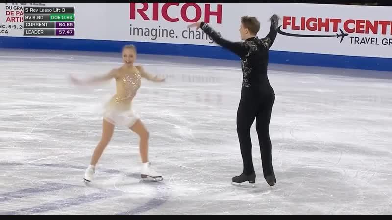 Skate Canada 2018 Aleksandra BOIKOVA Dmitrii KOZLOVSKII FS