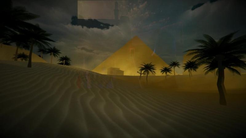 Начальное интро для Проклятие египетской пирамиды [Озвучка:EraCk]