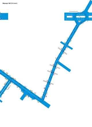 Схемы маршрутов. 9. Автошкола
