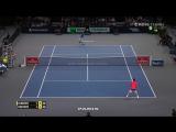 Grigor Dimitrov vs. Novak Djokovic 6-4, 2-6, 3-6 BNP Paribas Masters Paris (R16) 03.11.2016.