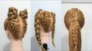 Peinados para la Escuela con Moños y Coletas by Belleza sin Limites