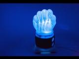 Как сделать светильник в виде кулака из пластика 2 часть