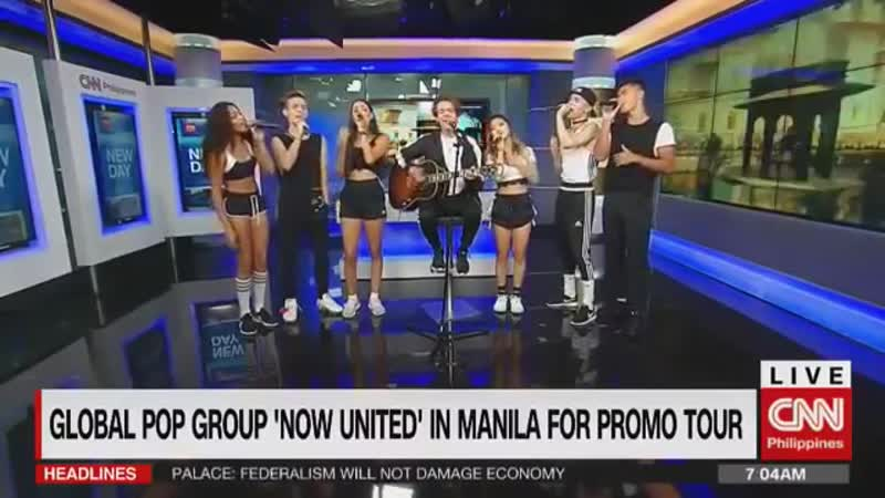 CNN Philippines - Now United (Live performance and Interview)
