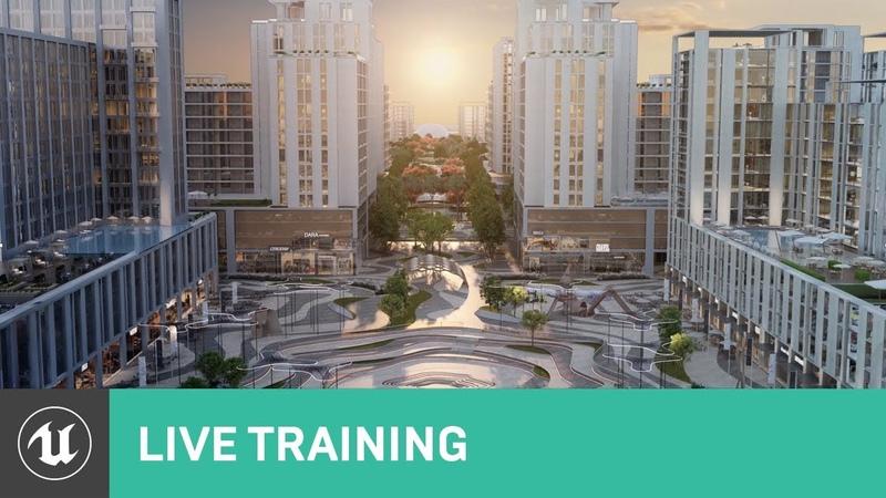 Developing Large Urban Designs In VR | Webinar | Unreal Engine