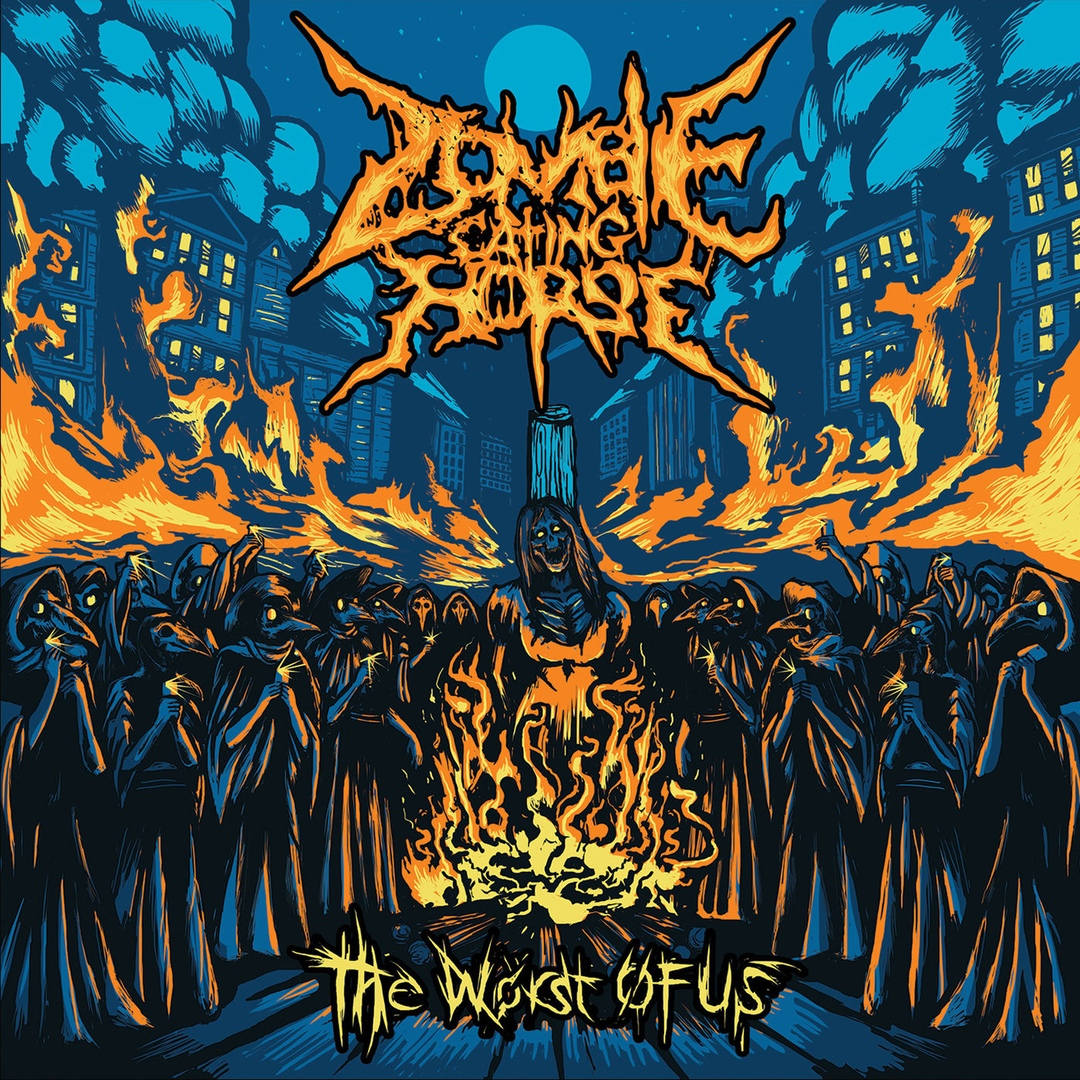 Zombie Eating Horse - The Worst of Us (2018)
