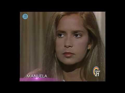 🎭 Сериал Мануэла 220 серия, 1991 год, Гресия Кольминарес, Хорхе Мартинес.