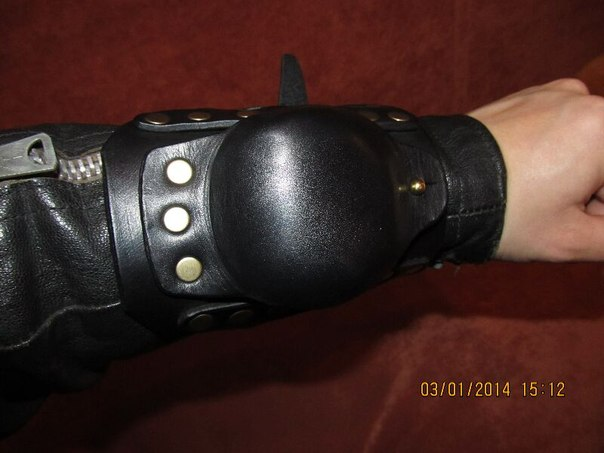 Изделия из кожи своими руками для байкеров 87